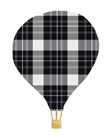 Plaid Balloon Fine Art Print