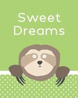 Sweet Dreams - Green Fine Art Print