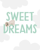 Sweet Dreams Sloth Fine Art Print