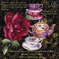 Tea Time 1 Framed Print