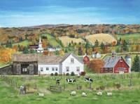 Autumn Fields Fine Art Print