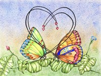 Lovely Butterflies Fine Art Print