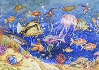 Underwater Menagerie Fine Art Print