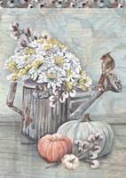 Farmhouse Fall Welcome Fine Art Print