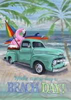 Beach Day Fine Art Print
