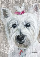 Lucky Dog Westie Fine Art Print