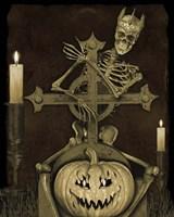 Halloween Graveyard - A Fine Art Print