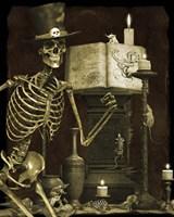 Halloween Graveyard - D Framed Print
