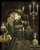 Halloween Graveyard - E Fine Art Print