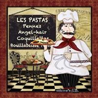 Bistro Chef - C Fine Art Print