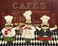Italian Chefs - D Fine Art Print