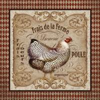 Old World Poule B Fine Art Print