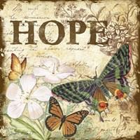 Inspirational Butterflies - Hope Fine Art Print