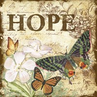 Inspirational Butterflies - Hope Fine Art Print