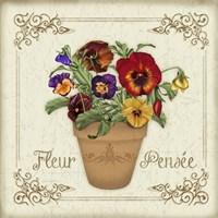Fleur Pensee Fine Art Print