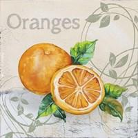 Tutti Fruiti Orange Fine Art Print