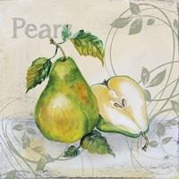 Tutti Fruiti Pear Framed Print