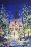 Fantasy St Louis Cathedral Fine Art Print