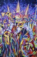 Jackson Square Jammin Jazz Fine Art Print