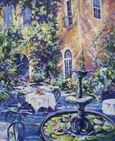 New Orleans Courtyard Fine Art Print