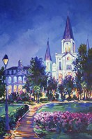 St Louis Cathedral Fine Art Print