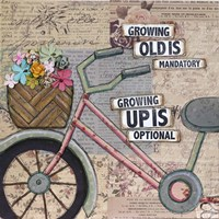 Bike Growing Old Fine Art Print