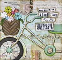 Bike Too Wonderful Fine Art Print