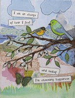 Bird of happiness Fine Art Print