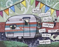 Happy Camper Fine Art Print