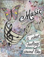 Musical Feelings Fine Art Print