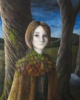 Autumn Girl Fine Art Print