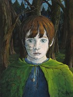 Forest Boy Fine Art Print