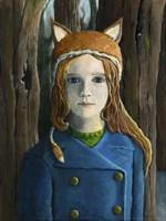 Fox Girl Fine Art Print
