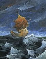 Leaf Boat Fine Art Print