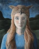 Owl Girl Fine Art Print