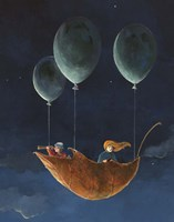 Penelope and the Airship Fine Art Print