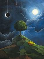 Sun Moon Stars Fine Art Print
