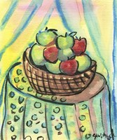 Basket of Apples Fine Art Print