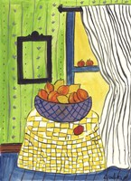Bowl of Oranges and Lemons Fine Art Print