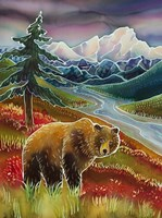 Autumn Grizzly Fine Art Print