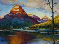 Sunrise On Sinopah Fine Art Print