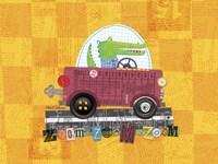 Animal Transporters 1 Fine Art Print