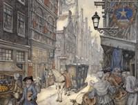 Street Alley Fine Art Print