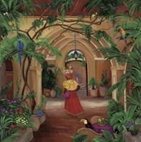 Columbian Fruit Woman Fine Art Print