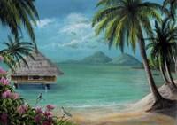 Tahiti Getaway Fine Art Print