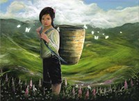 Child of Vietnam Fine Art Print