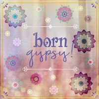 Gypsy Cherry Sign 3 Framed Print