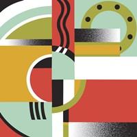 Bauhaus 3 Fine Art Print