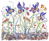 Cooper-Whimsical Flowers Fine Art Print