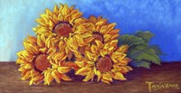 Sunflowers of Fall Fine Art Print